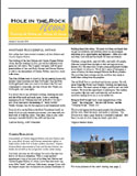 Hole-in-the-Rock Newsletter Volume 8