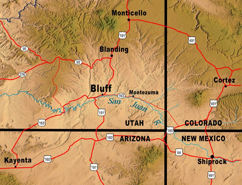 Bluff Fort Maps
