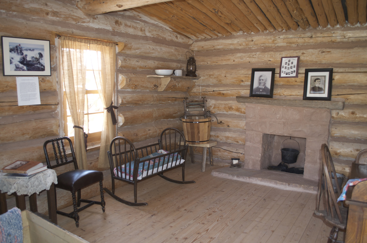 Jens Nielson Cabin Interior