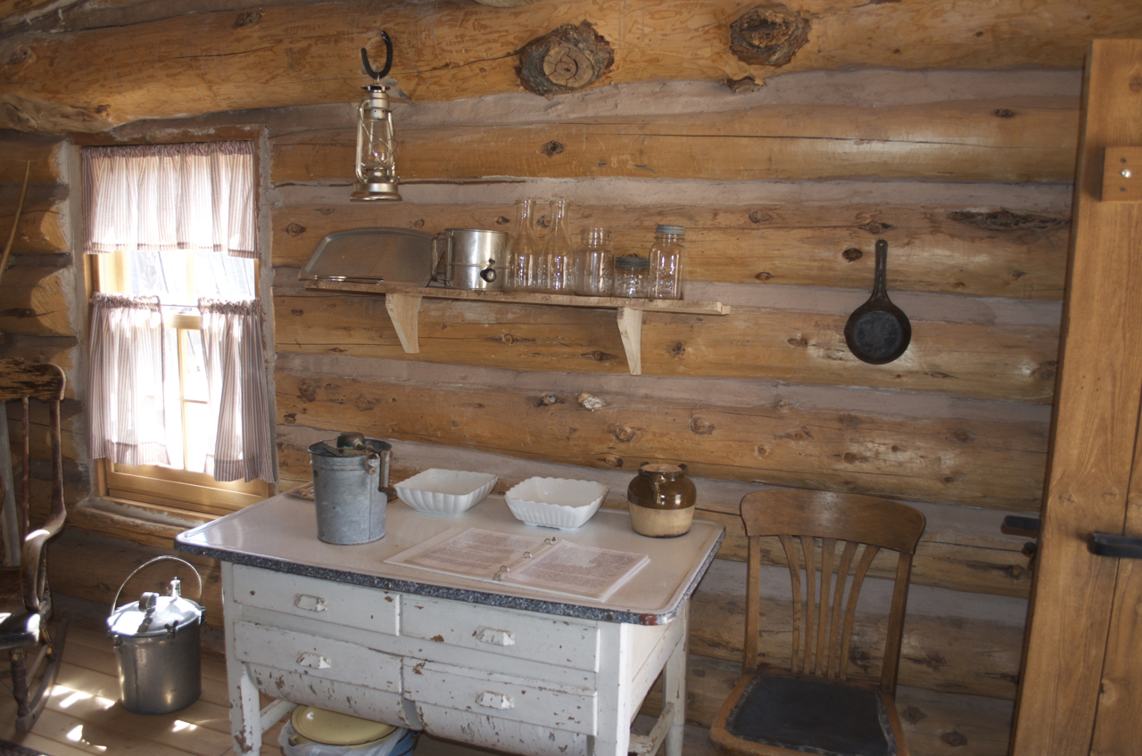 Detail within Jones Cabin