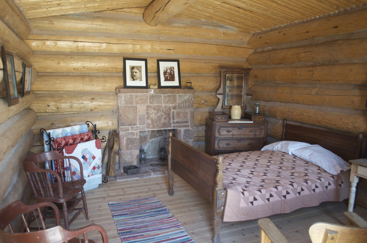 James Monroe Redd Cabin Interior