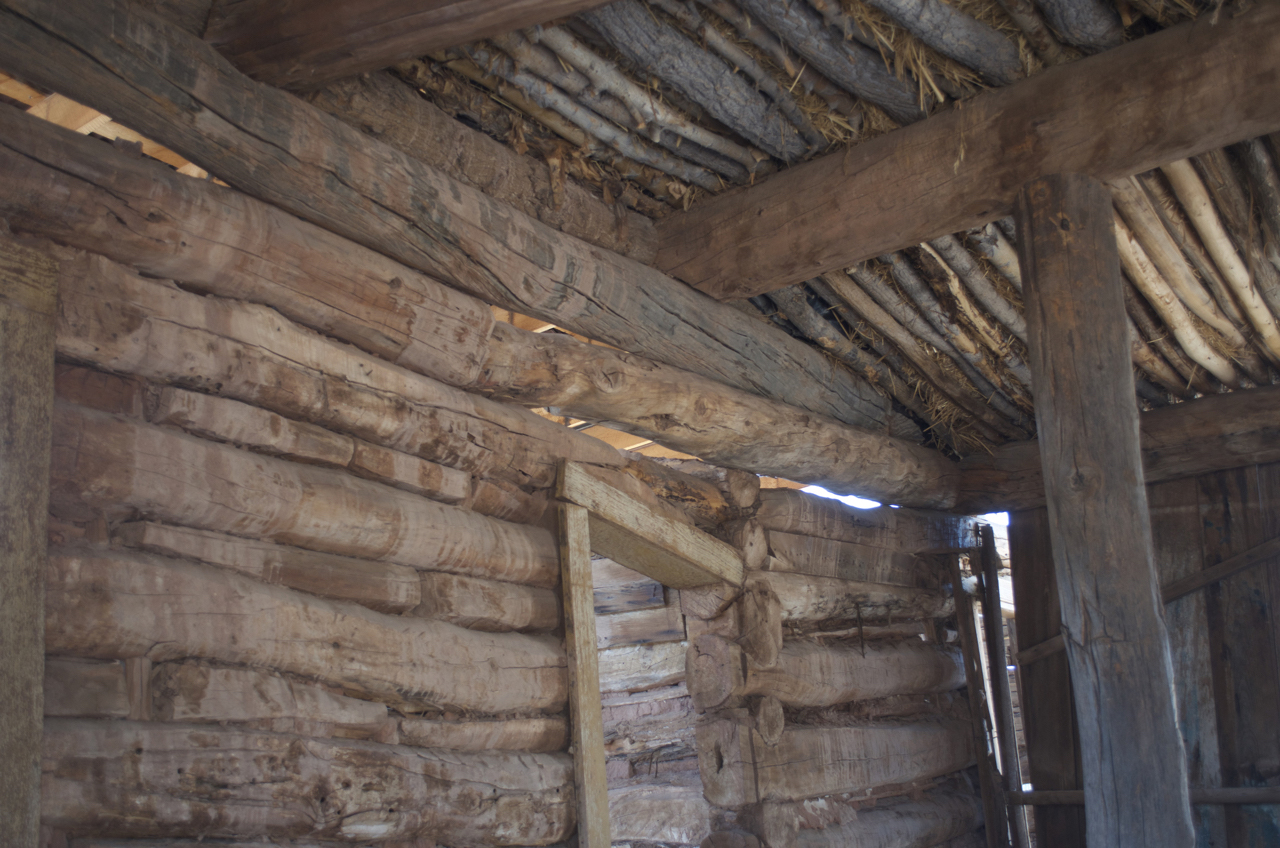 detail of ceiling Barton Cabin