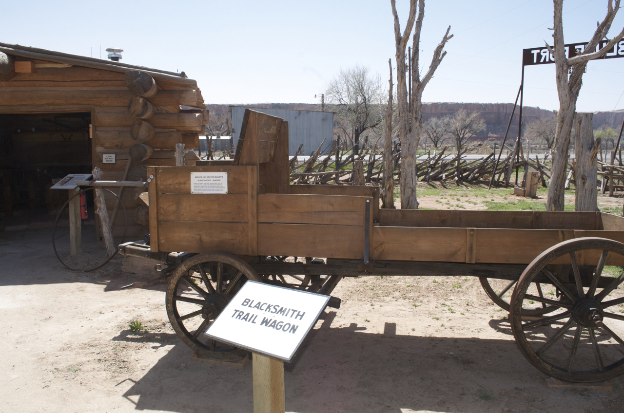 Blacksmith Trailwagon