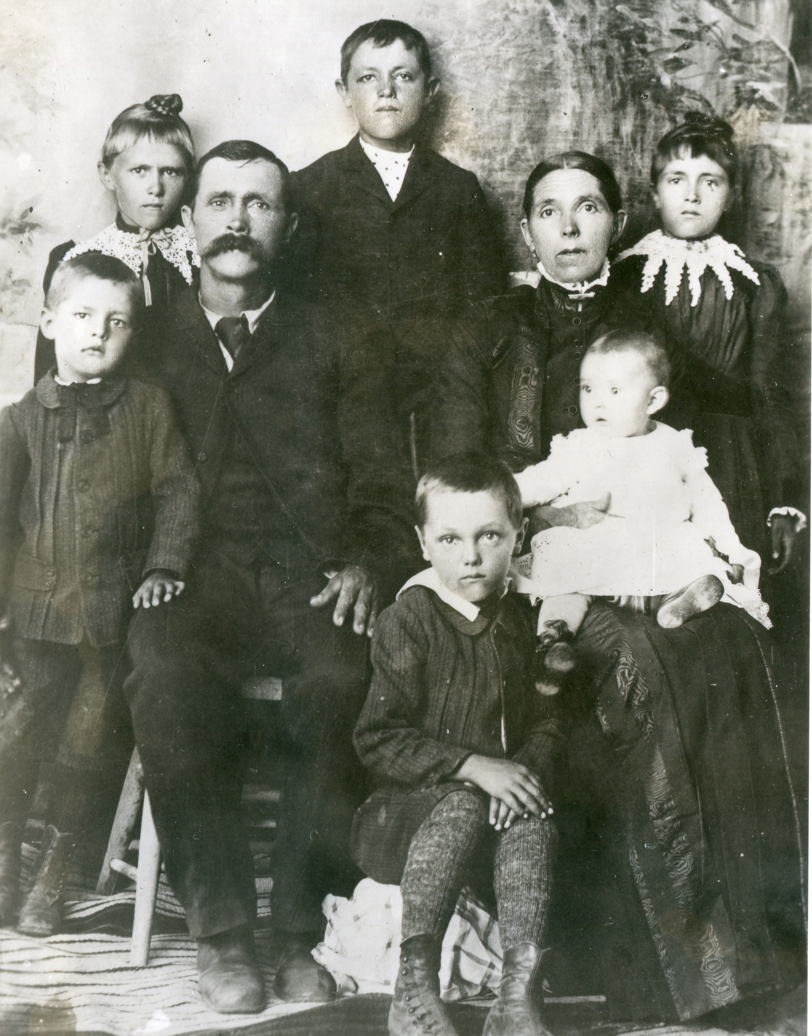 Family of Hyrum and Rachel Perkins